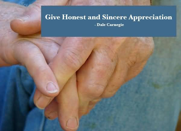 give-honest-and-sincere-appreciation